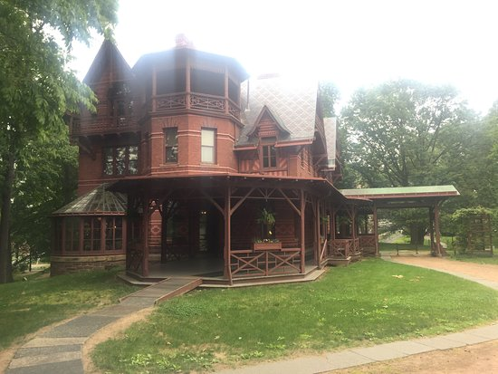 The Mark Twain House & Museum: Porch and Turret