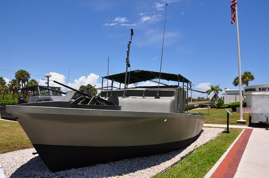 Fort Pierce, FL: One of the boats on display