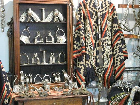 Gaucho handcrafts at La Rural