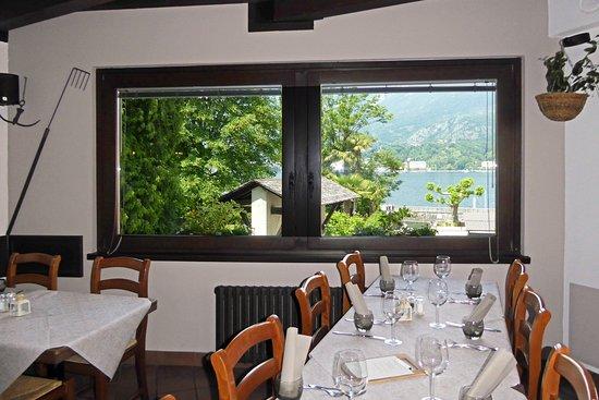 La sala superiore con la finestra vista lago picture of ittiturismo ristorante mella bellagio - Ristorante la finestra ...