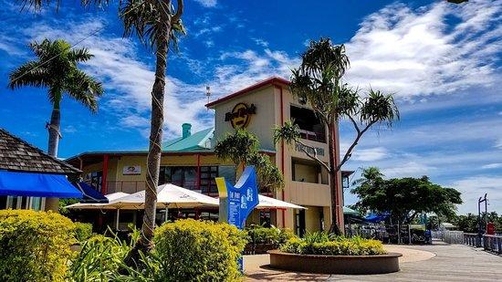 The Hard Rock Cafe' in Port Denarau, Fiji