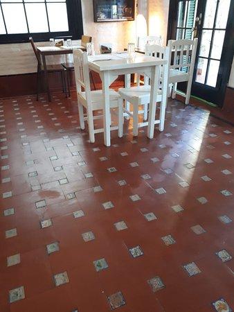 Santoral Restaurant y Posada: Restaurante de la posada Santoral