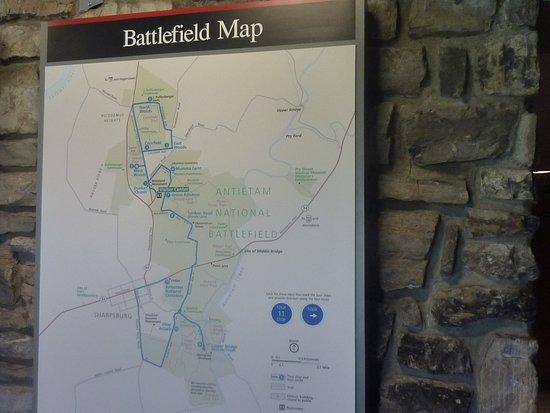 Antietam Battlefield Guides照片