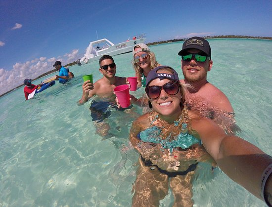 VIP Saona Island Dive and Snorkel Small Group Tour from Punta Cana: Natural Pool.
