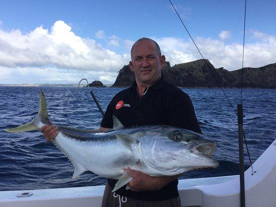 Spot-X Fishing Charters: Fishing at the Cavalli Islands a great king fish