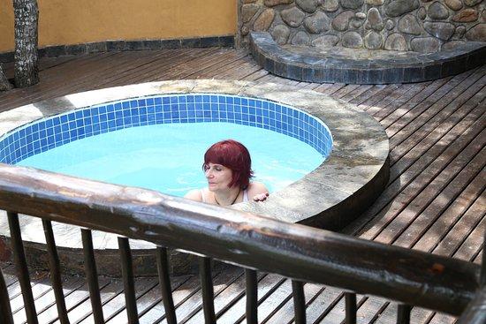 Mkuze Game Reserve, Afrique du Sud : piscine/salle de bain