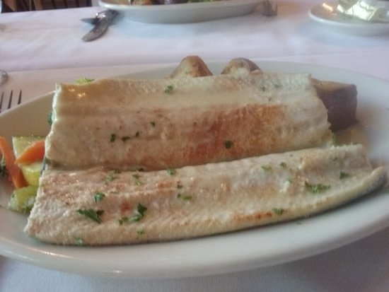 Cranbury Inn : Boneless Filet of Trout with Sauce Beurre Blanc