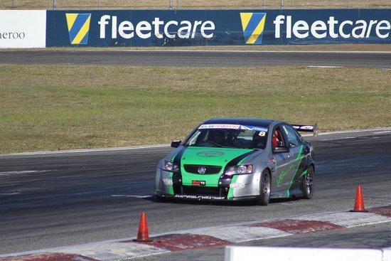V8 Driveday Pty Ltd - Barbagallo Raceway: Me trying my best !