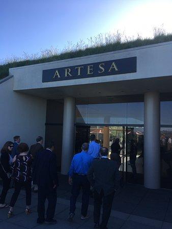 Artesa Vineyards & Winery: Entrance