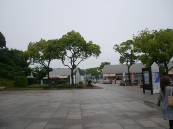 Kujukushima Pearl Sea Resort : 駐車場近くの風景