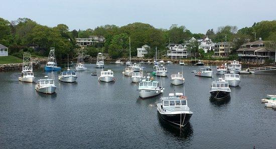 Perkins Cove marina, Ogunquit, Maine