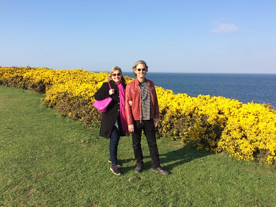 Craster, UK: The walk along the coastline