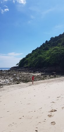 Phuket Marriott Resort & Spa, Merlin Beach: Easy access to private beach where snorkelling is awesome.