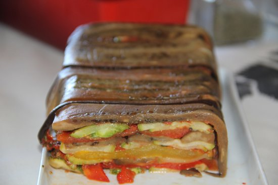 Casa Tamanduá: Terrine vegetariana