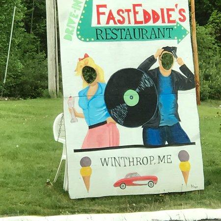 Winthrop, ME: Fast Eddies Drive-In