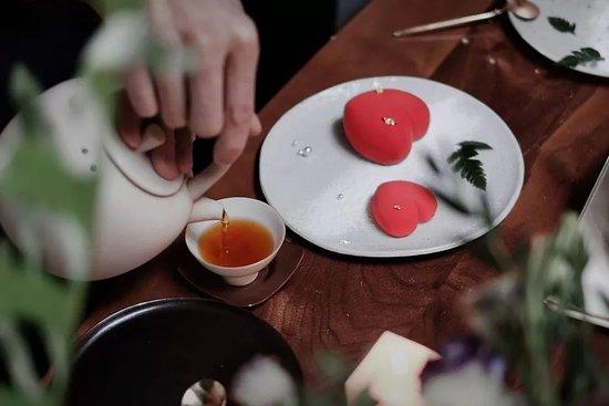 Goooooood Afternoon: 桃花(táo huā)Mint & Sweet Peach Mousse