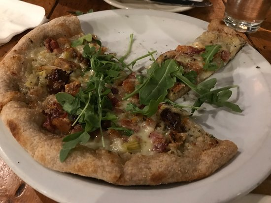 Los Alamos, CA: Coachella Valley Date and Bacon Flatbread