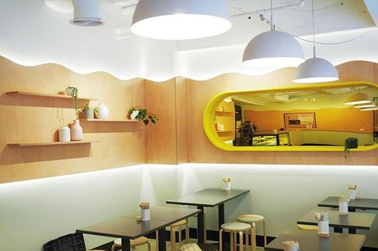 Bibimbap: Interior inspired by our food truck