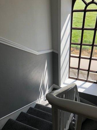 Ballymacoda, Irlanda: Staircase to second floor