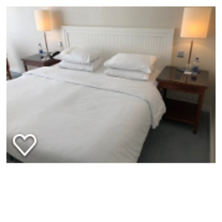 Herbert Park Hotel and Park Residence: Double bed