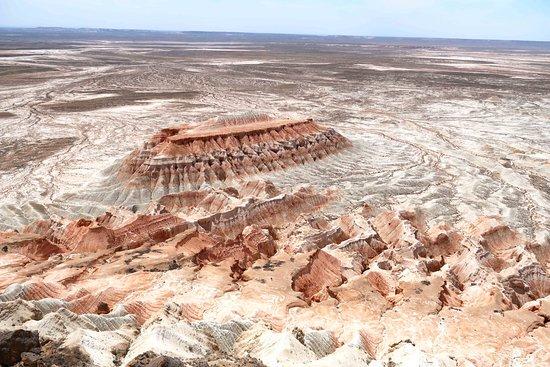 Balkanabat, Turkmenistan: Yangykala Canyon