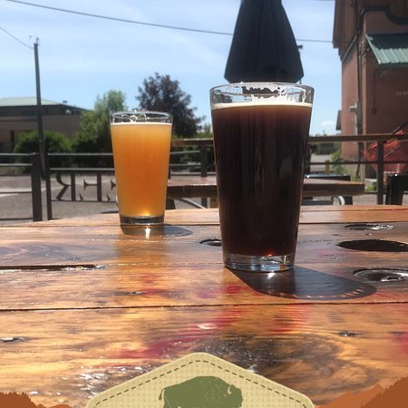 Kalispell, MT: Patio beers