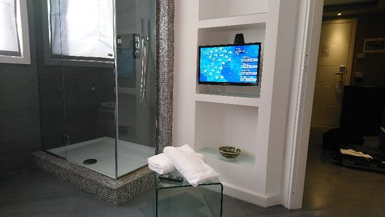 Tv in bagno picture of ibis styles palermo cristal palermo