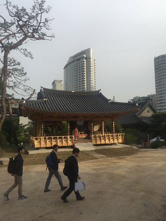 Grand InterContinental Seoul Parnas: temple recommended by concierge team