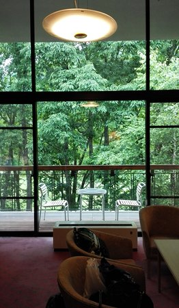 ANA Holiday Inn Resort Shinano-Omachi Kuroyon: メゾネットタイプのお部屋。森にひたれます!