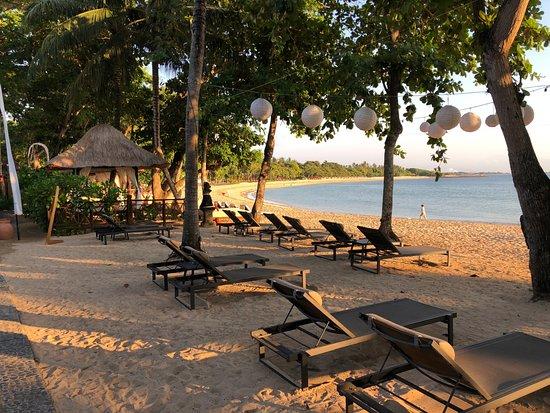 Melia Bali: Beach area