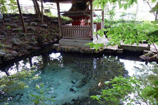 Hitachi, Japan: 泉神社 弁天様と湧水