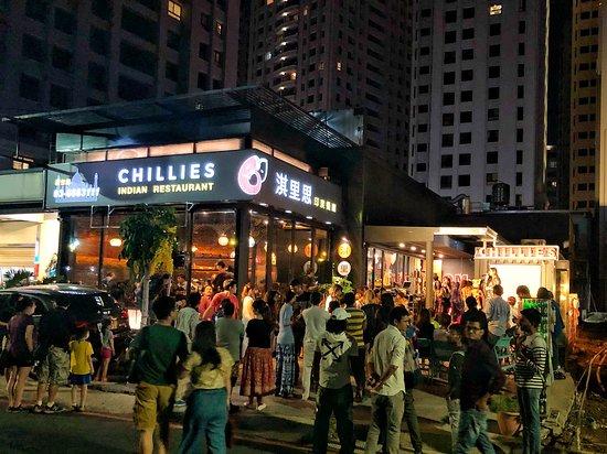 Chilliesine Indian Restaurant - Hsinchu: was a big event @ Chillies Indian Restaurant Hsinchu淇里思印度餐廳新竹