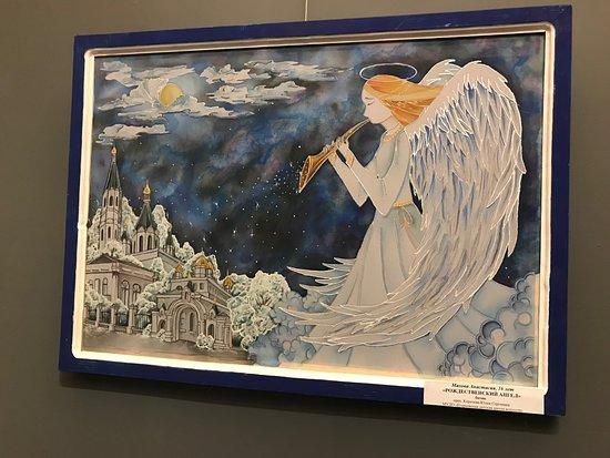 Yegoryevsk History and Art Museum: Работа учеников художественной школы