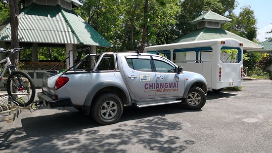 Chiang Mai Adventure Tour: The acompanying vehicle