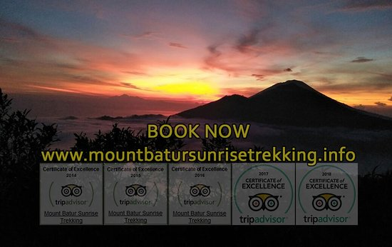 Bangli, Indonesia: Mount Batur Sunrise Trekking