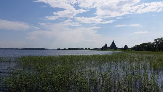Кижи Государственный Историко-Архитектурный и Этнографический Музей-Заповедник: вид на озеро