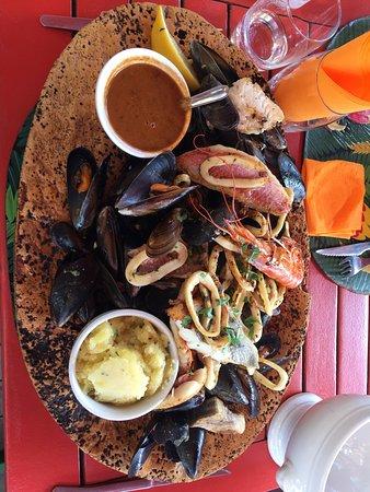 Port-Cros, Francja: Parillada de poissons