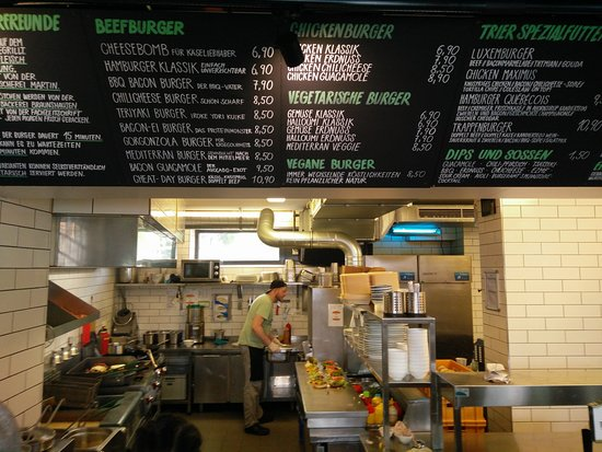 Burgeramt Trier : Where the magic happens + Menu