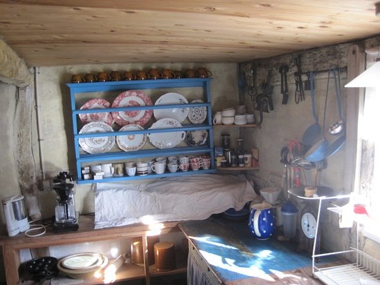 Haarlev, Denmark: Det gamle køkken
