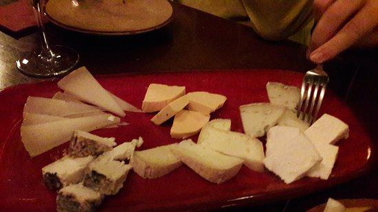Gothic Quarter: Surtido de quesos