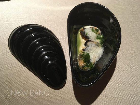 Snow Bang - Contraste - cozze cacio e pepe