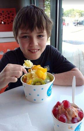 SunO Dessert : mango peach