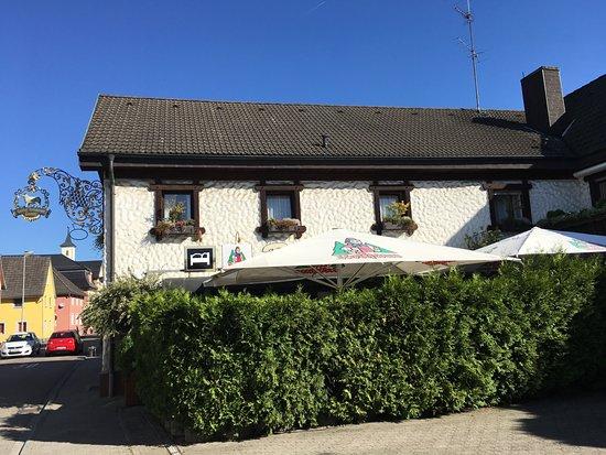 Muggensturm, Tyskland: House from street