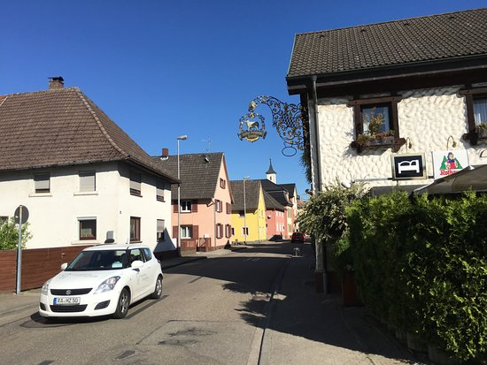 Muggensturm, Tyskland: Street view.