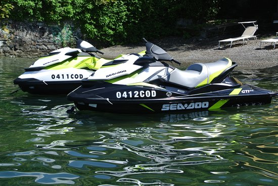 Faggeto Lario, อิตาลี: Moto d'acqua Sea Doo WEC - Water Experience Center