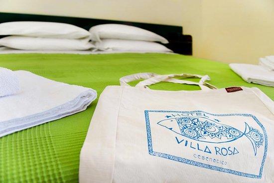 Hotel Villa Rosa: Dettaglio camera