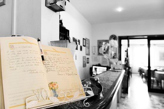 Hotel Villa Rosa: Libro degli ospiti