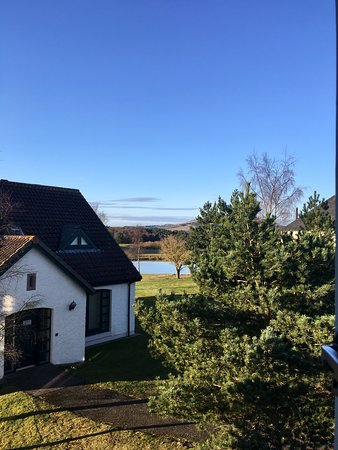 Drumoig, UK: View fro our room