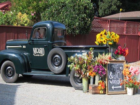 Rancho Nicasio Flower Truck