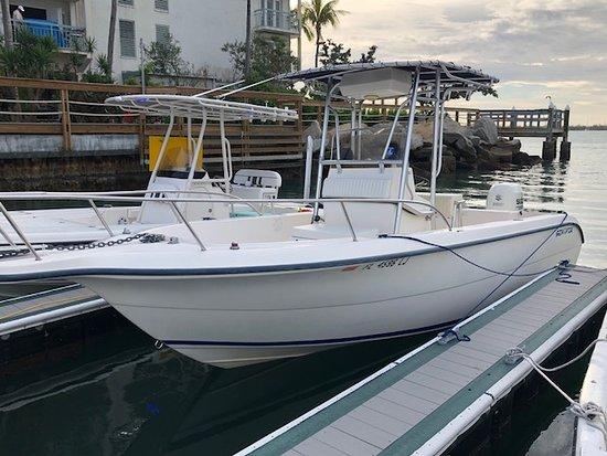 Cudjoe Key, FL: 25 ft Sea Fox / 150 suzuki